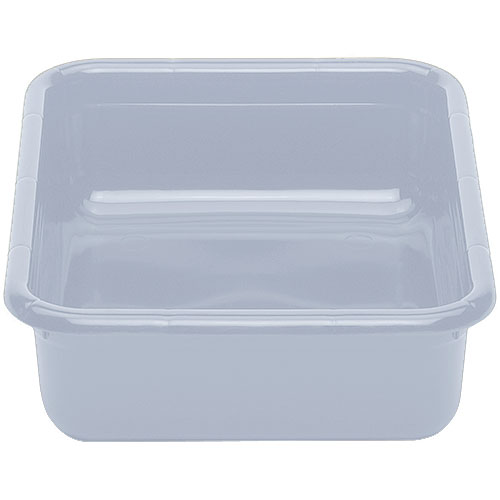 "Cambro Poly Cambox® Flat Bottom 15"" x 20"" - Light Gray 1520CBPF180"