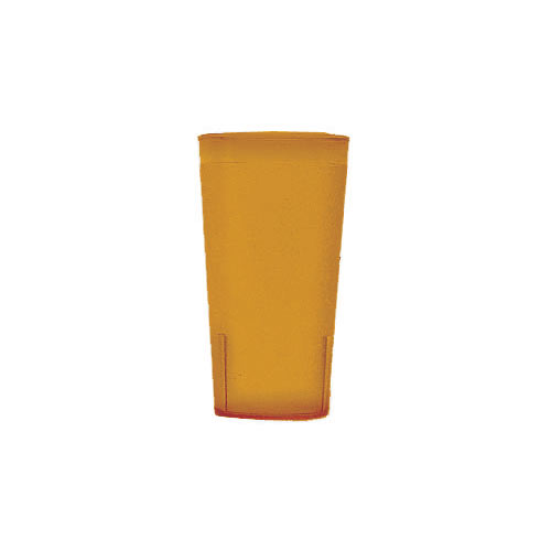 Cambro Colorware Stackable Tumblers 72/PK - Amber 16.4 oz 1600P153