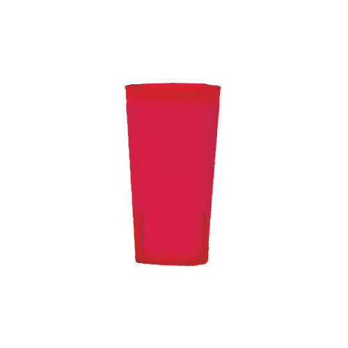 Cambro Colorware Stackable Tumblers 72/PK - Ruby Red 16.4 oz 1600P156