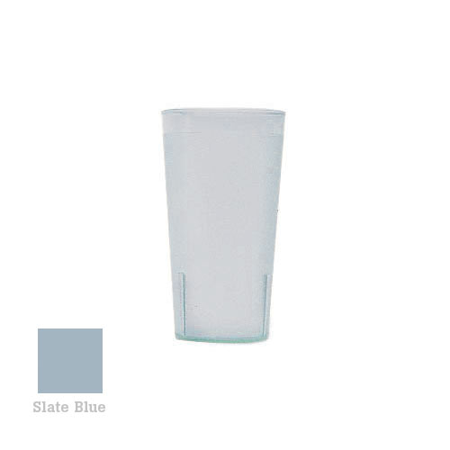 Cambro Colorware Stackable Tumblers 72/PK - Slate Blue 16.4 oz 1600P401