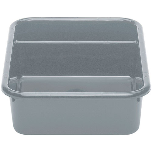 Cambro Poly Cambox® 2 Compartment Bus Box - Light Gray 1621CBP180