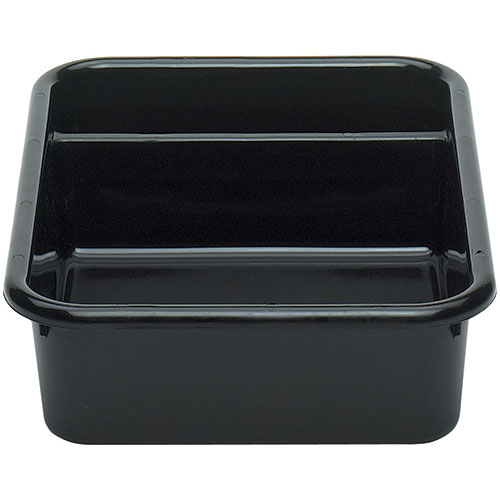 Cambro Regal Cambox® 2 Compartment Bus Box  - Black 1621CBR110