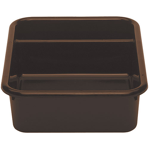 Cambro Regal Cambox® 2 Compartment Bus Box  - Dark Brown 1621CBR131