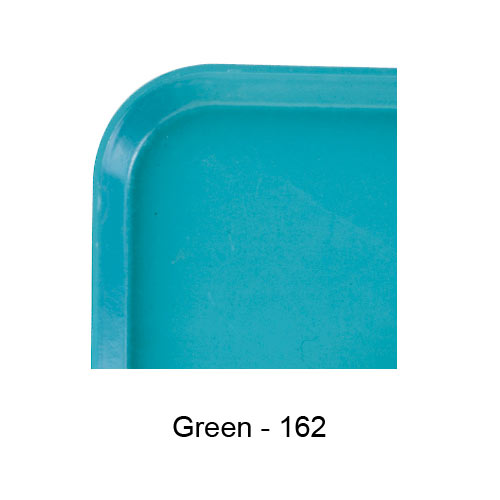 "Cambro Rectangular Camlite Tray - 12"" x 16 5/16"" Green 1216CL162 2"