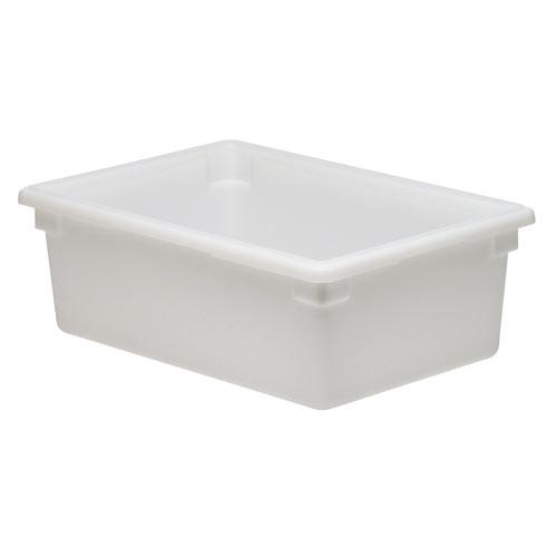 Cambro Full Size Camwear Food Box - 17 gal White  182612P148