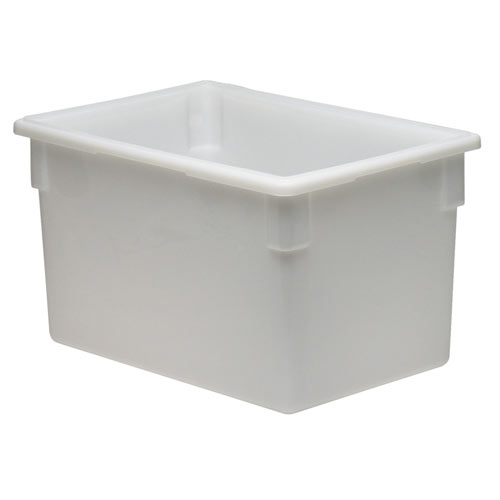 Cambro Full Size Camwear Food Box - 22 gal White  182615P148
