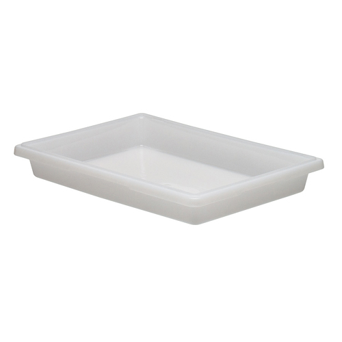 Cambro Full Size Camwear Food Box - 5 gal White  18263P148