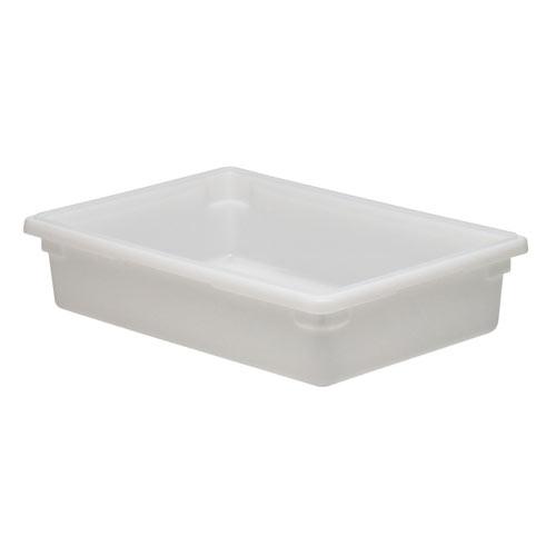 Cambro Full Size Camwear Food Box - 8 3/4 gal White  18266P148