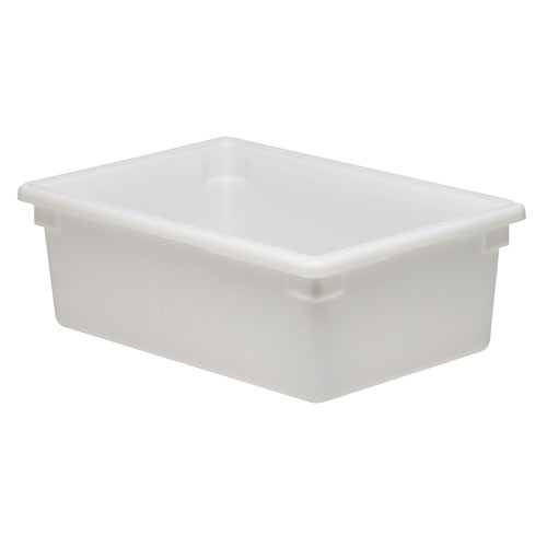 Cambro Full Size Camwear Food Box - 13 gal White  18269P148