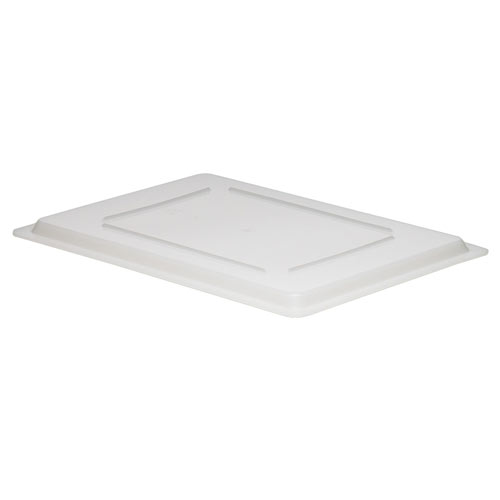 "Cambro White Flat Lids for Food Boxes - 18"" x 26"" 1826CP148"