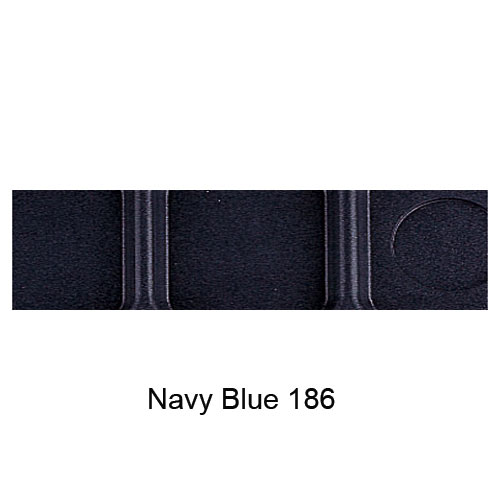 Cambro Budget School Compartment Tray -  Navy Blue BCT1014186 2