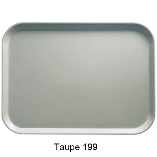 "Cambro Rectangular Camtray - 12"" x 16 5/16"" Taupe 1216199"