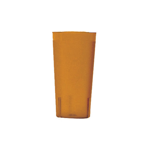 Cambro Colorware Stackable Tumblers 72/PK - Amber 22 oz 2000P153