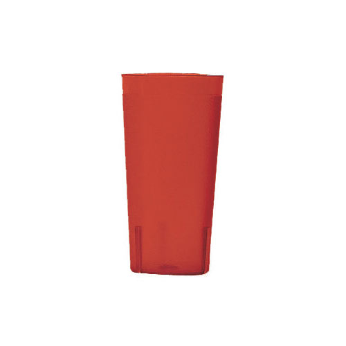 Cambro Colorware Stackable Tumblers 24/PK - Ruby Red 22 oz 2000P2156