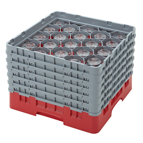 "Cambro Full Size Camrack Glass Rack - 20 Compartment - 11 3/4"" H 20S1114"