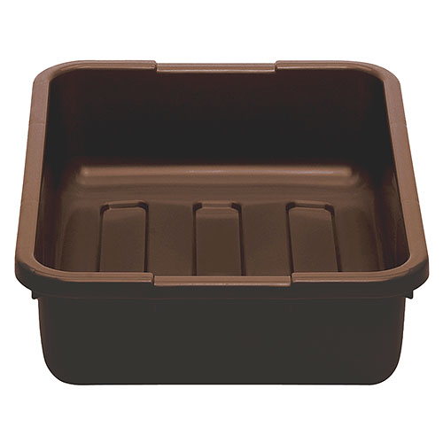 "Cambro Poly Cambox® 15"" x 21"" x 5"" - Dark Brown 21155CBP131"