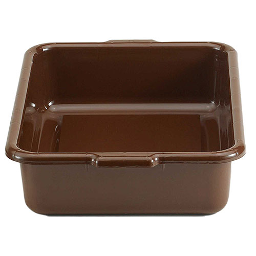 "Cambro Regal Cambox® 15"" x 21"" x 5"" - Dark Brown 21155CBR131"