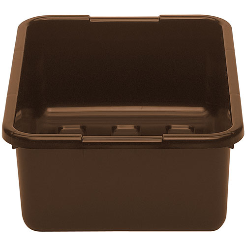 "Cambro Deep Poly Cambox® 15"" x 21"" x 7"" - Dark Brown 21157CBP131"