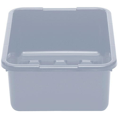 "Cambro Deep Poly Cambox® 15"" x 21"" x 7"" - Light Gray 21157CBP180"