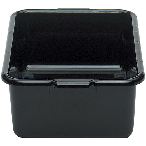"Cambro Deep Regal Cambox® 15"" x 21"" x 7""- Black 21157CBR110"