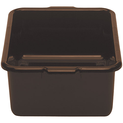 "Cambro Deep Regal Cambox® 15"" x 21"" x 7"" - Dark Brown 21157CBR131"
