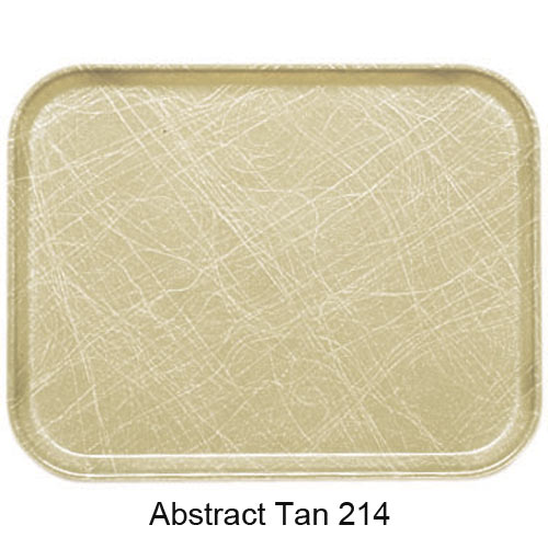 "Cambro Dietary Tray - 12"" x 19"" Abstract Tan 1219D214 2"