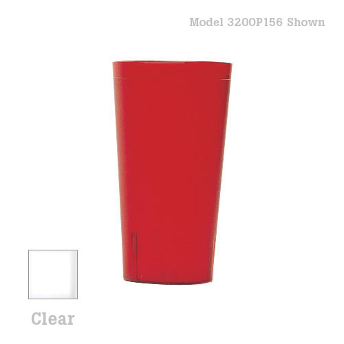 Cambro Colorware Stackable Tumblers 72/PK - Clear 32 oz 3200P2152