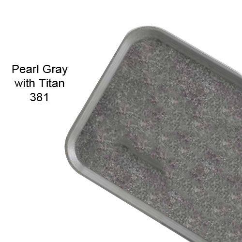 Cambro Non-Skid Versa Camtray for Room Service -  Pearl Gray w/ Titan 1520VCRST381 2