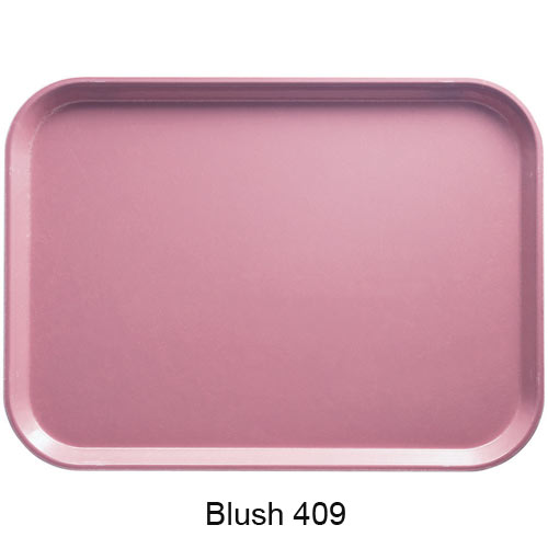"Cambro Rectangular Camtray - 12"" x 16 5/16"" Blush 1216409"