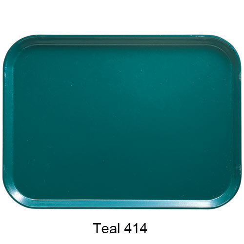 Cambro Co-Polymer Separator Compartment Tray -  Teal 10146DCP414 2