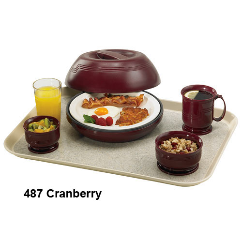 Cambro Camduction® Pellet Underliners - Cranberry MDSCDL9487 2