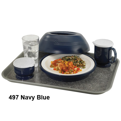 Cambro Heat Keeper Insulated Base - Navy Blue HK39B497 2