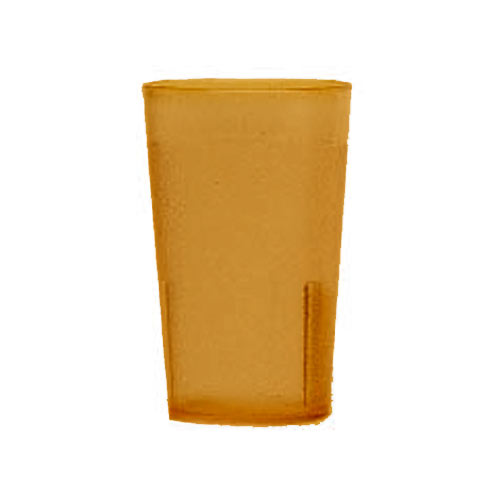 Cambro Colorware Stackable Tumblers 72/PK - Amber 5.2 oz 500P153