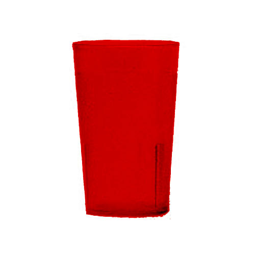 Cambro Colorware Stackable Tumblers 24/PK - Ruby Red 5.2 oz 500P2156