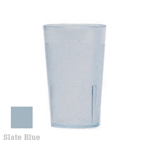 Cambro Colorware Stackable Tumblers 72/PK - Slate Blue 5.2 oz 500P401