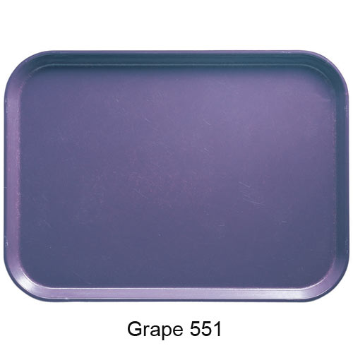 "Cambro Round Camtray - 11"" Grape 1100551 2"