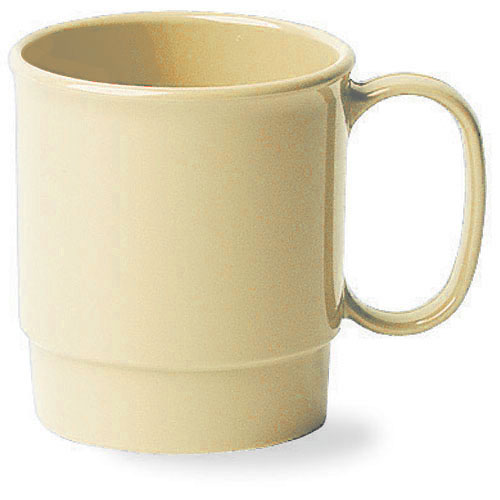 Cambro Camwear® Polycarbonate Stacking Cup 7.5 oz - Beige 75CW133