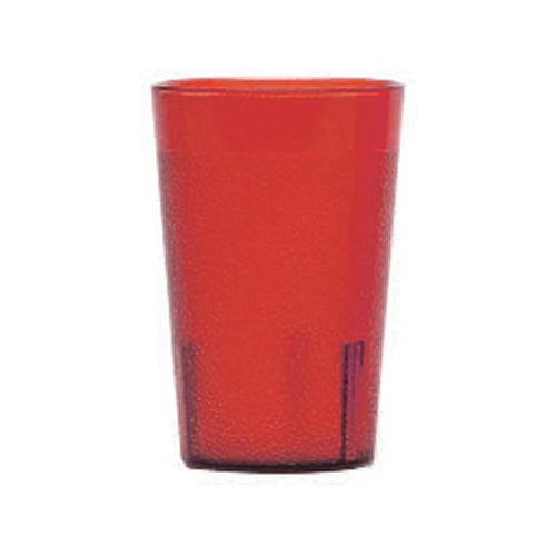 Cambro Colorware Stackable Tumblers 24/PK - Ruby Red 7.8 oz 800P2156