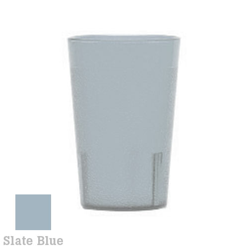Cambro Colorware Stackable Tumblers 72/PK - Slate Blue 7.8 oz 800P401