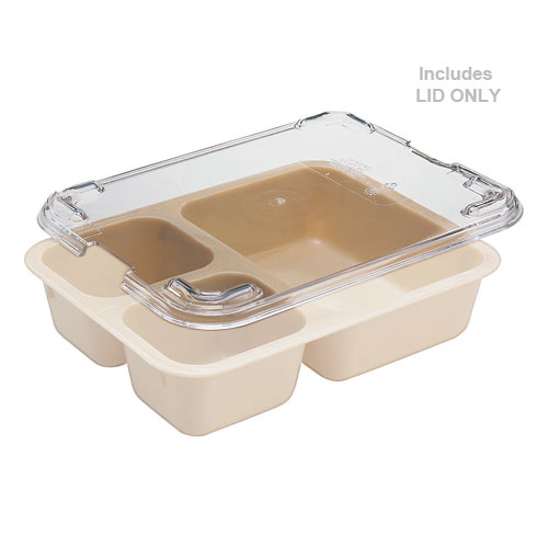 Cambro Tray on Tray Meal Delivery System - Camwear Lid 853FCWC135