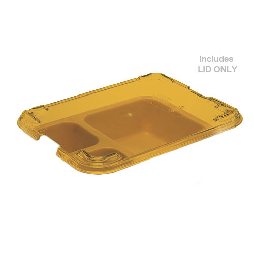 Cambro Tray on Tray Meal Delivery System - Heat Resistant Lid 853FHC150