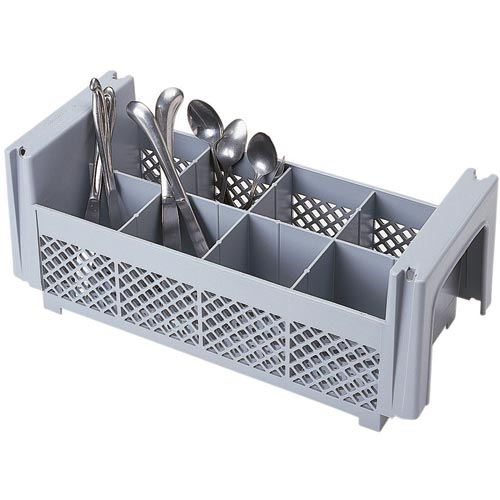 Cambro Camrack® 8 Compartment Half Flatware Basket - No Handles 8FBNH434151