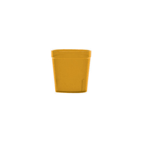 Cambro Colorware Stackable Tumblers 72/PK - Amber 9.7oz 900P153