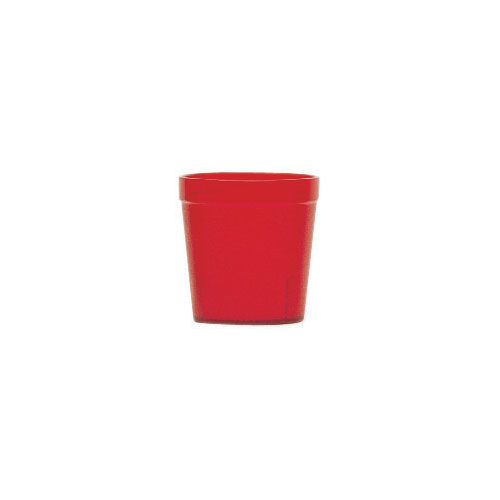 Cambro Colorware Stackable Tumblers 24/PK - Ruby Red 9.7oz 900P2156