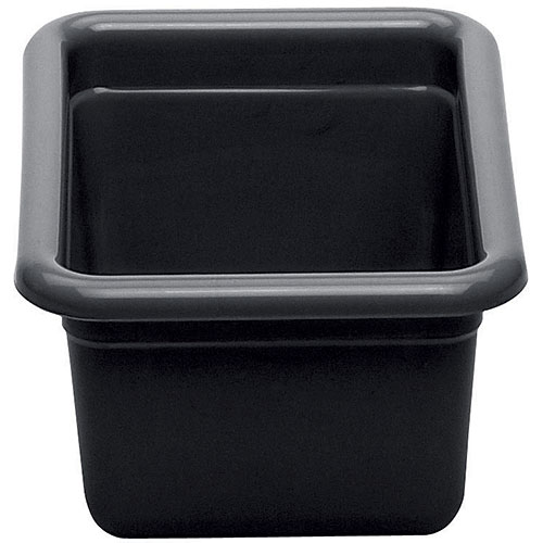 "Cambro Poly Cambox® 5"" Small Utility Box- Black 912CBP110"