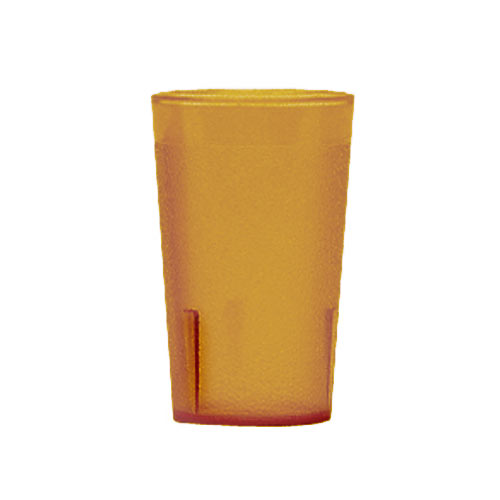 Cambro Colorware Stackable Tumblers 72/PK - Amber 9.8oz 950P153