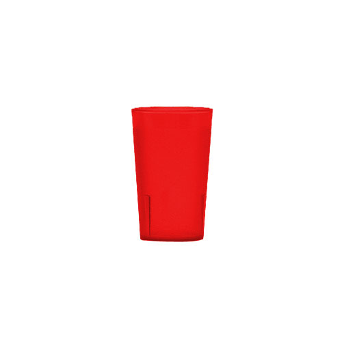 Cambro Colorware Stackable Tumblers 72/PK - Ruby Red 9.7oz 950P156