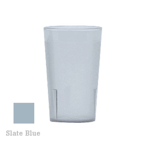 Cambro Colorware Stackable Tumblers 72/PK - Slate Blue 9.8oz 950P401