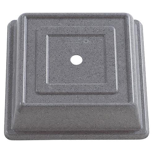 "Cambro Square Versa Camcovers® 10"" - Granite Gray 978SFVS191"