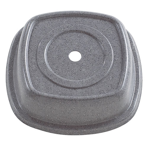 "Cambro Square Versa Camcovers® 9 1/8"" - Granite Gray 99SMVS191"